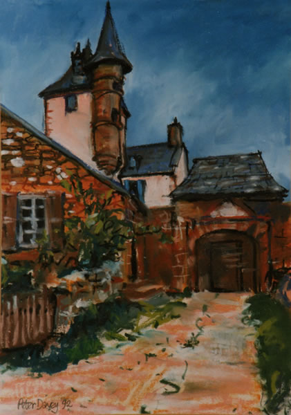 Peter Davey Artist Townscapes Gallery Gallery Of