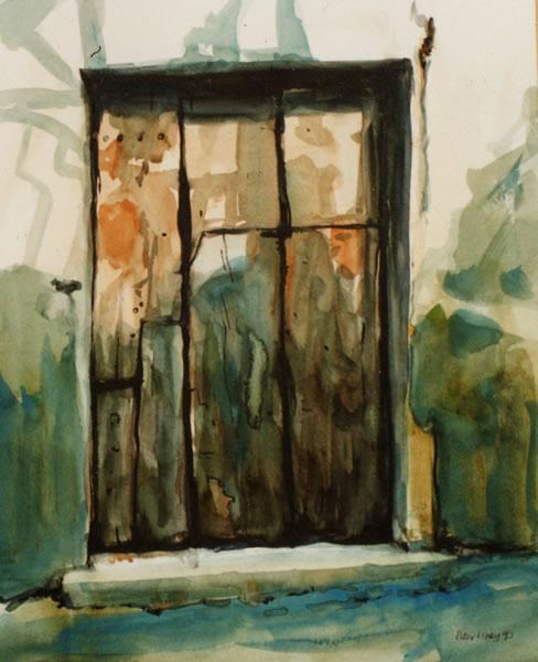 Peter Davey Artist Doors And Windows Gallery Gallery